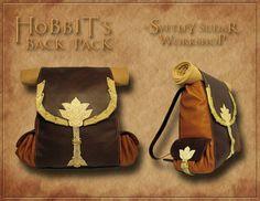 Hobbit's leather back pack(inspired Bilbo Baggins) by Svetliy-Sudar on deviantART