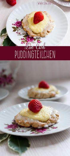 Low Carb Puddingteilchen #lowcarb #abnehmen #glutenfrei www.lowcarbkoestlichkeiten.de