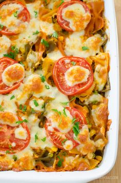 Yum! What's not to love about this Creamy Vegetable Pasta Bake. A great dish for the whole family and one you will come back to make again and again.