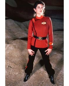 Lt Saavik (Kristie. Alley). She was replaced in this role by Robin Curtis for Star Trek 3.