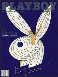 Erte, Playboy cover, 1987