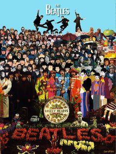 The Beatles' all times poster Beatles Guitar, Les Beatles, Beatles Art, John Lennon Beatles, Beatles Meme, Beatles Poster, Beatles Albums, Beatles Photos, John Lennon Paul Mccartney
