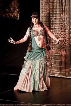 Anna Ro, really like the drape of fabric