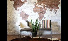 Colorer un mur de briques: 10 idées