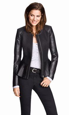 Peplum jacket by H&M
