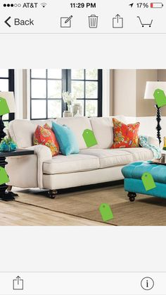 Broyhill Emily Sofa $746.99 | Decorating For New Home | Pinterest | Sofa  Sofa, Decorating And Pillows