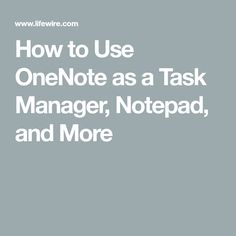 Turn OneNote into a powerful organization tool for managing your tasks, schedule, notes, and more with this free template and system. Computer Help, Computer Technology, Computer Programming, Computer Tips, Medical Technology, Energy Technology, Technology Gadgets, One Note Microsoft, Microsoft Excel