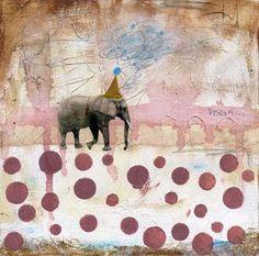 Elephants and polka dots! I WANT IT