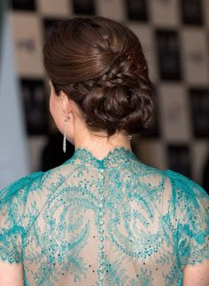 Kate Middleton. love her hair!