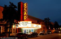 I love the way SCAD buys old buildings, restores (not renovates) them and then re-purposes them.