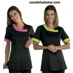 Cleaning Uniform, Spa Uniform, Apron, Cold Shoulder Dress, Short Sleeve Dresses, Medical, Sewing, Africans, Work Outfits