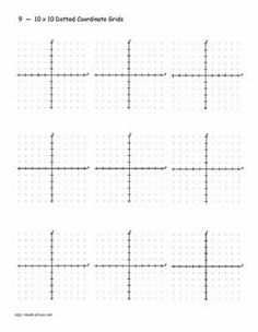 Practice Your Graphing with These Printables | Grid paper ...