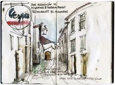 Urban Sketchers Portugal: Eduardo Salavisa