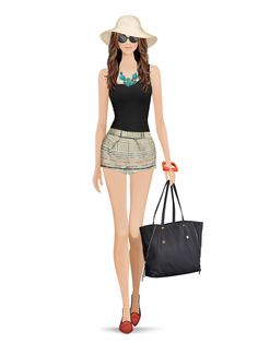 Styled with: Joie, Parker, G. Dias, Isharya, Eric Javits, Rebecca Minkoff   Create your own look with Covet Fashion