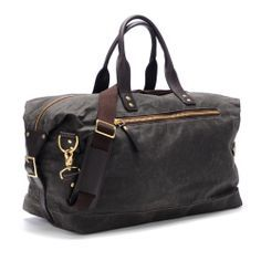 Ernest alexander chocolate wax overnighter  Did you see this modern duffel bag for ever day