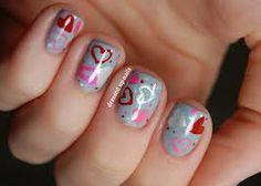 uñas pintadas y decoradas - Buscar con Google