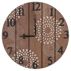 DIY Arabesque Paneled Clock