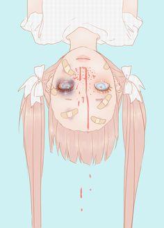 Guro pastel girl, horribly pretty?