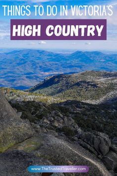Things to Do in Victoria's High Country - The Trusted Traveller Melbourne Australia, Australia Travel, Walking Map, Stuff To Do, Things To Do, Melbourne Street, Falls Creek, Travel Photos, Travel Pictures