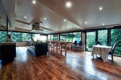 La salle mise à disposition pour le cours de cuisine.