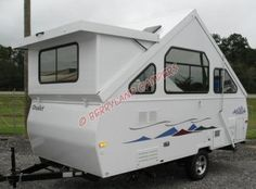 Nifty little Chalet Pop-up Camper