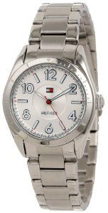 Tommy Hilfiger Women's 1781276  Casual Sport Stainless Steel 3-Hand Watch Tommy Hilfiger. $81.98. Durable mineral crystal protects watch from scratches. Quartz movement. Case Diameter: 30 mm. Water-resistant to 30 M (99 feet). Multi layer dial, stainless steel case