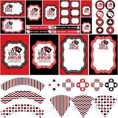 avidaehumjogo545 Tema Las Vegas, Las Vegas Party, Vegas Theme, Casino Theme, Cassino Party, 18th Party Ideas, Magician Party, Magic Birthday, Poker Party