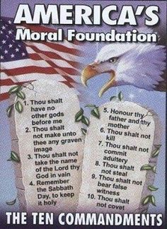 """It's a matter of the laws that are to be obeyed rather than what religion it comes from. In fact, Christianity, Islam, and Judaism are similar in their so called """"10 Commandments"""" or laws. Thus, the laws should be a matter of consideration and justification."""