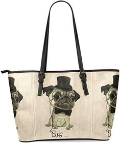 Black And White Dog With Happy Face Printing Canvas Shoulder Bag Retro Casual Handbags Messenger Bags
