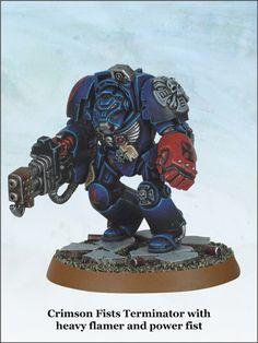 Crimson Fists Terminator