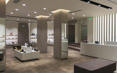 Shoe Store Design, Boutique Interior Design, Store Interiors, Ladies Boutique, Stores, Lady, Service Design, Layout Design, Construction
