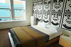 I stayed in this room in 2007 and I loved it. Ace Hotel, Seattle