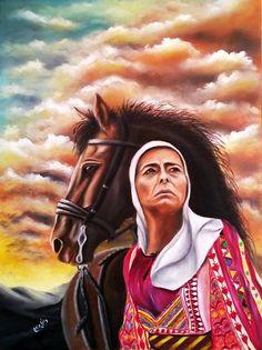 Palestine History, Palestine Art, Arabian Art, Hero Movie, Art Hoe, Drawing Reference Poses, Print Pictures, Female Art, Folk Art