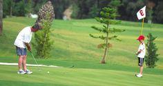 El golf de padres a hijos