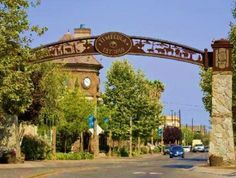 This sign is the entrance to Old Town Temecula in Temecula, CA.  My family and I moved back to Wenatchee from there in 2005.  It would be really cool to have an similar arch to welcome people to Historic Downtown Wenatchee.