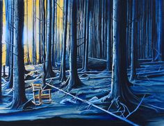 In The Blue Woods | Patrushka