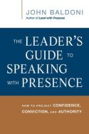 In The Leader's Guide to Speaking with Presence, executive coach John Baldoni demonstrates how leaders can perfect the art of communication to become more effective within their organizations. Through a series of tips and techniques, Baldoni teaches readers how to both craft and deliver the kinds of speeches that truly resonate with audiences.