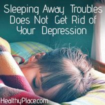 Depression can make you feel drowsy and overtired on a regular basis. But sleeping the day and night away, won't get rid of your troubles. Read more. How To Fix Depression, Depression Self Help, Battling Depression, Psicologia, Humor