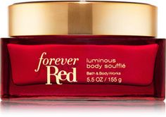 Forever Red Luminous Body Soufflé - Signature Collection - Bath & Body Works