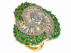 Minawala's emerald ring