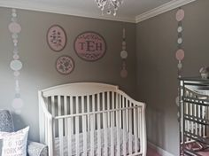 DIY Boho Beads Design for the Nursery - too cute!