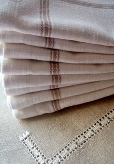 French Ticking ~ Fine Linen
