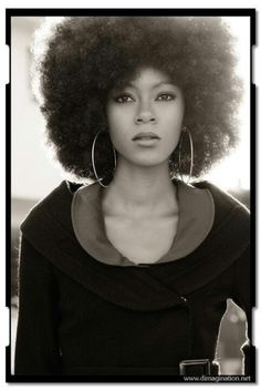 Regal afro. To learn how to grow your hair longer click here - http://blackhair.cc/1jSY2ux