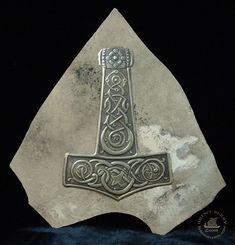 Thor's Hammer with knotwork by Vegvisir.deviantart.com on @deviantART
