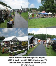 The World's Longest Yardsale from Hudson, MI to Gadsden, AL mostly on U.S. Hwy. 127 the 1st Thursday thru Sunday of every August.