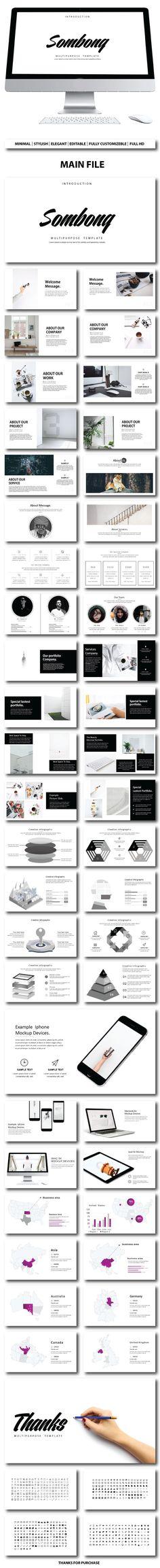 Sombong Presentation Template - PowerPoint Templates Presentation Templates