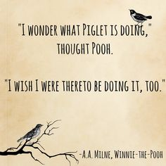 awwwww! Winnie-The-Pooh, A.A. Milne | 15 Book Quotes That Perfectly Describe Friendship
