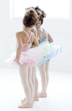 Baby Ballerinas by Gina Uhlmann, via Flickr