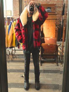 Jacket: Wool Packer Coat. 100% virgin wool