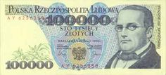 Polish money before devaluation. Visit Poland, I Will Remember You, My Roots, The Beautiful Country, Quote Posters, Childhood Memories, My Love, Banknote, Retro